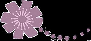 lila blomma